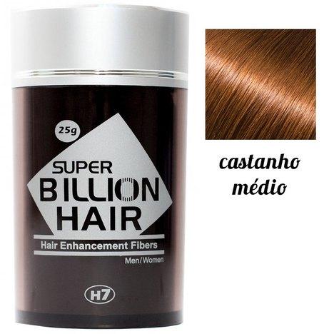 Super Billion Hair 25G - Castanho Médio