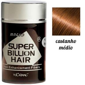 Super Billion Hair - Castanho Médio