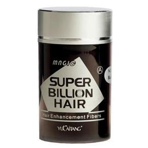 Super Billion Hair Fibra Billion Hair - Disfarce para a Calvície - 8g - 3 - Castanho Escuro