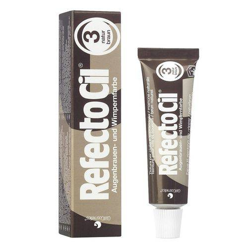 Tinta Sobrancelhas Refectocil Castanho Natural N° 3 15ml