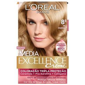 Tintura Imédia L`Oréal 8.3 Mel Dourado