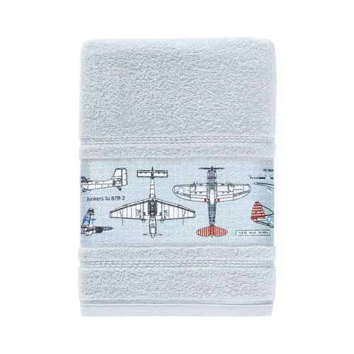 Toalha de Banho Infantil Felpuda Aero - Karsten Azul Glace