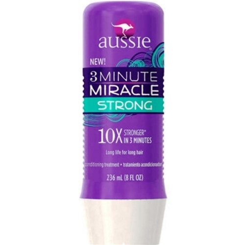 Tratamento Máscara 3 Minutes Strong Miracle 236ml Aussie