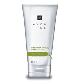 True Máscara Facial Matificante Pele Mista a Oleosa 150ml