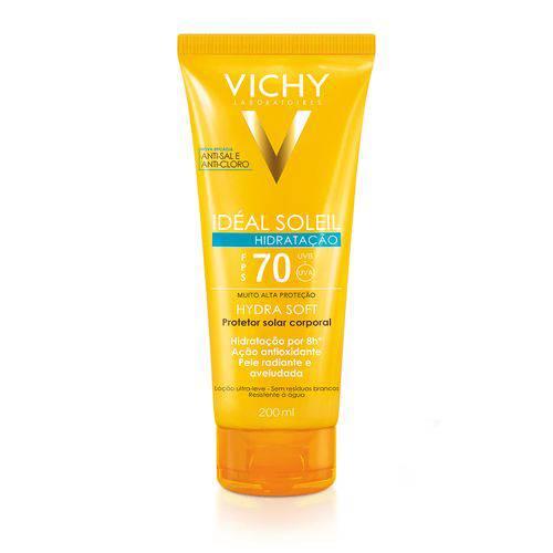 Vichy Ideal Soleil Hydrasoft Hidratante Fps 70