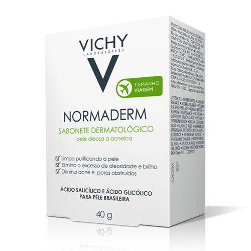 Vichy Normaderm Sabonete Barra