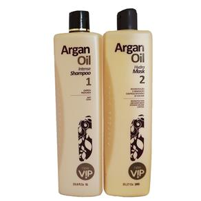 Vip Argan Oil Escova Progressiva - 2x1000ml