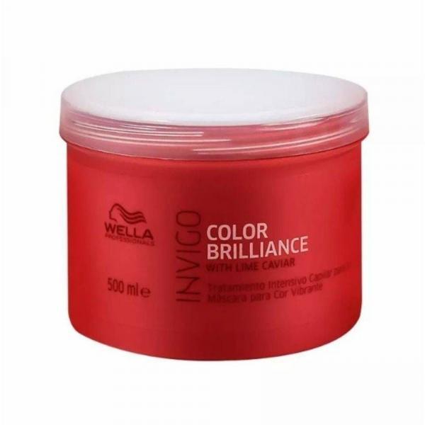 Wella Máscara Professionals Invigo Color Brilliance 500 Ml