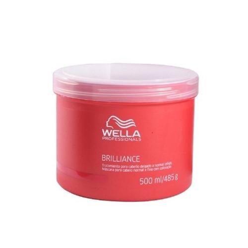 Wella Professionals Brilliance Máscara Cabelos Finos 500 Ml