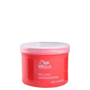 Wella Professionals Brilliance Máscara Cabelos Grossos 500ml-Fab Wella Cosméticos