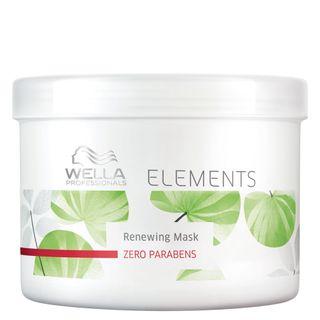 Wella Professionals Elements Renewing Mask - Máscara de Reconstrução Tamanho Professional 500g
