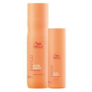 Wella Professionals Invigo Nutri-Enrich Kit - Shampoo + Wonder Balm Kit