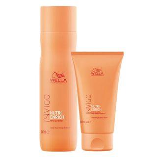 Wella Professionals Nutri-Enrich Kit - Shampoo + Máscara Enrich Self-Warm Kit