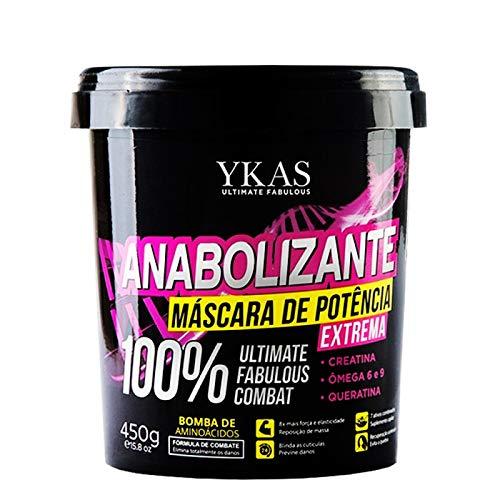 Ykas Anabolizante Capilar Máscara 450g