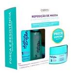 Ficha técnica e caractérísticas do produto Cadiveu Plástica de Argila Reposição de Massa Kit - Shampoo + Máscara de Argila + Fluido - Kit