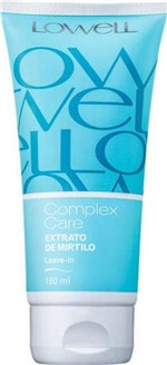 Ficha técnica e caractérísticas do produto Complex Care Extrato de Mirtilo Leave-in 180ml - Lowell