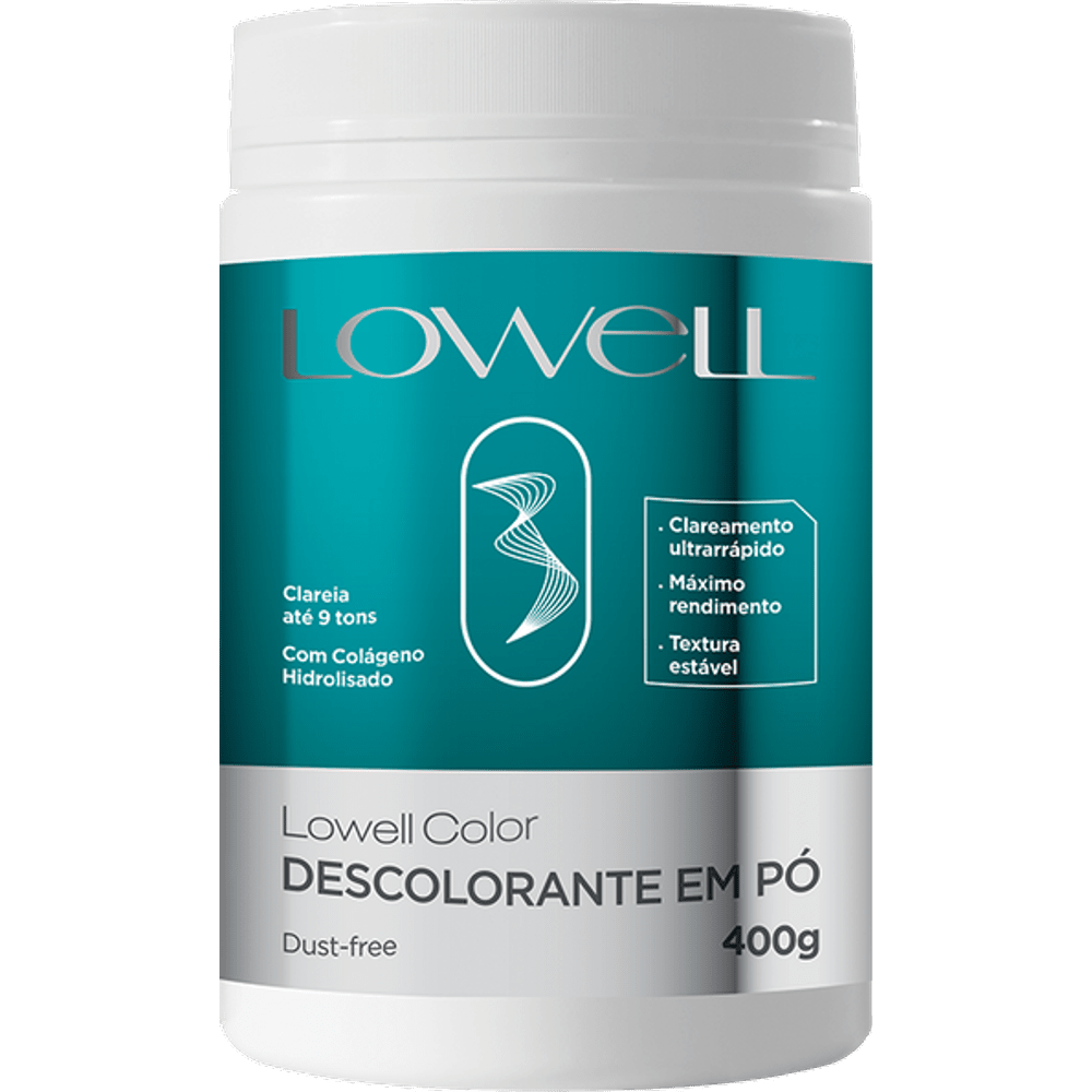 Descolorante Lowell Dust-Free 400g