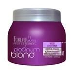 Ficha técnica e caractérísticas do produto Forever Liss Platinum Blond Máscara Matizadora - 250gr - Forever Liss Platinum Blond Máscara Matizadora - 250gr