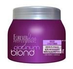 Ficha técnica e caractérísticas do produto Forever Liss Platinum Blond - Máscara Matizadora 250gr