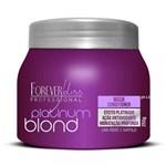 Ficha técnica e caractérísticas do produto Forever Liss Platinum Blond Máscara Matizadora - 250gr