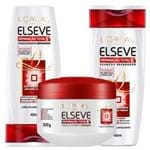 Kit Condicionador + Shampoo + Creme de Tratamento L'Oréal Paris Elseve Reparação Total 5+ Kit