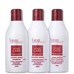 Kit Forever Liss Professional Home Care Anti-frizz Liso Protegido (3 Produtos)
