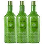Kit Inoar Argan Oil System - Shampoo 3x1000ml