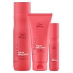 Kit Invigo Color Brilliance Wella - Shampoo + Condicionador + Leave-in Kit