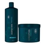 Kit Twisted Elastic Detangler Sebastian - Shampoo + Máscara - Tamanho Profissional Kit