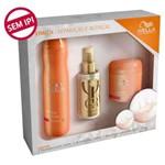 Kit Wella Verão Enrich- Shampoo 250ml , Mascara 150gr e Oleo Reflections 100ml