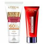 L'oréal Paris Kit - Cicatri-correct + Solar Expertise Antirrugas Fps60