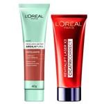 L'Oréal Paris Kit - Cicatri-Correct + Detox Argila Pura Esfoliante Kit