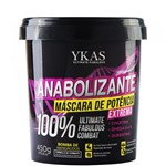 Ficha técnica e caractérísticas do produto Máscara Capilar Ykas Anabolizante - 450g