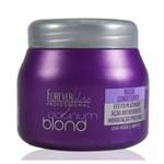 Ficha técnica e caractérísticas do produto Máscara Matizadora Platinum Blond Forever Liss - 250g