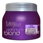 Ficha técnica e caractérísticas do produto Máscara Platinum Blond Matizadora 250gr - Forever Liss