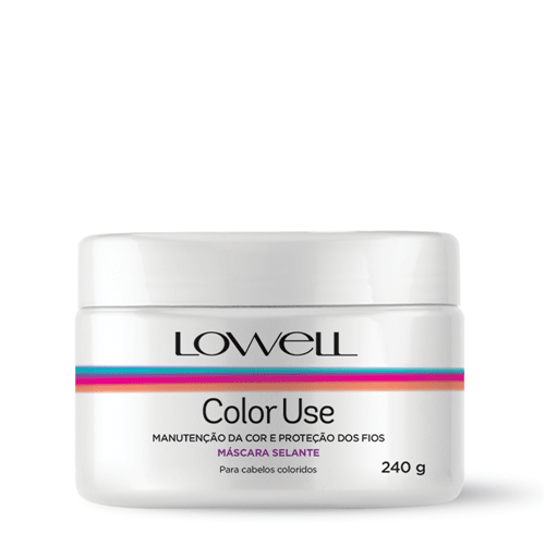 Máscara Selante Lowell Color Use 240g