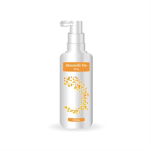 Minoxidil para Barba 5% Spray 120 ML