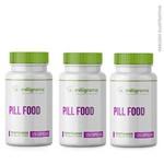 Pill Food 120 Cápsulas (3 UND)