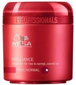 Ficha técnica e caractérísticas do produto Wella Brilliance Máscara para Cabelos Normais e Coloridos 150ml