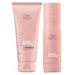Wella Professionals Cool Blond Recharge Invigo Kit - Shampoo + Condicionador Kit